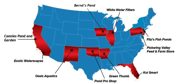 Authorized Helix Retailer Map